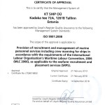 LLOYD'S REGISTER LRQA ISO 9001 Management systems acknowledged